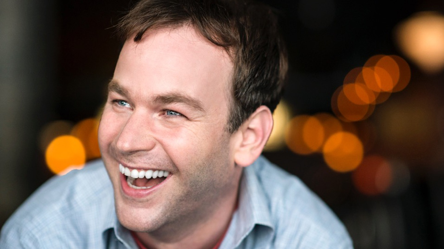 """Comedian Mike Birbiglia's new film Don't Think Twicefollows a close-knit improv group that starts to feel the strain when one of its members gets a big break on a hit TV show. Birbiglia tells us what improv and directing have in common, and how he's set out to """"hand-deliver"""" his film to theaters."""