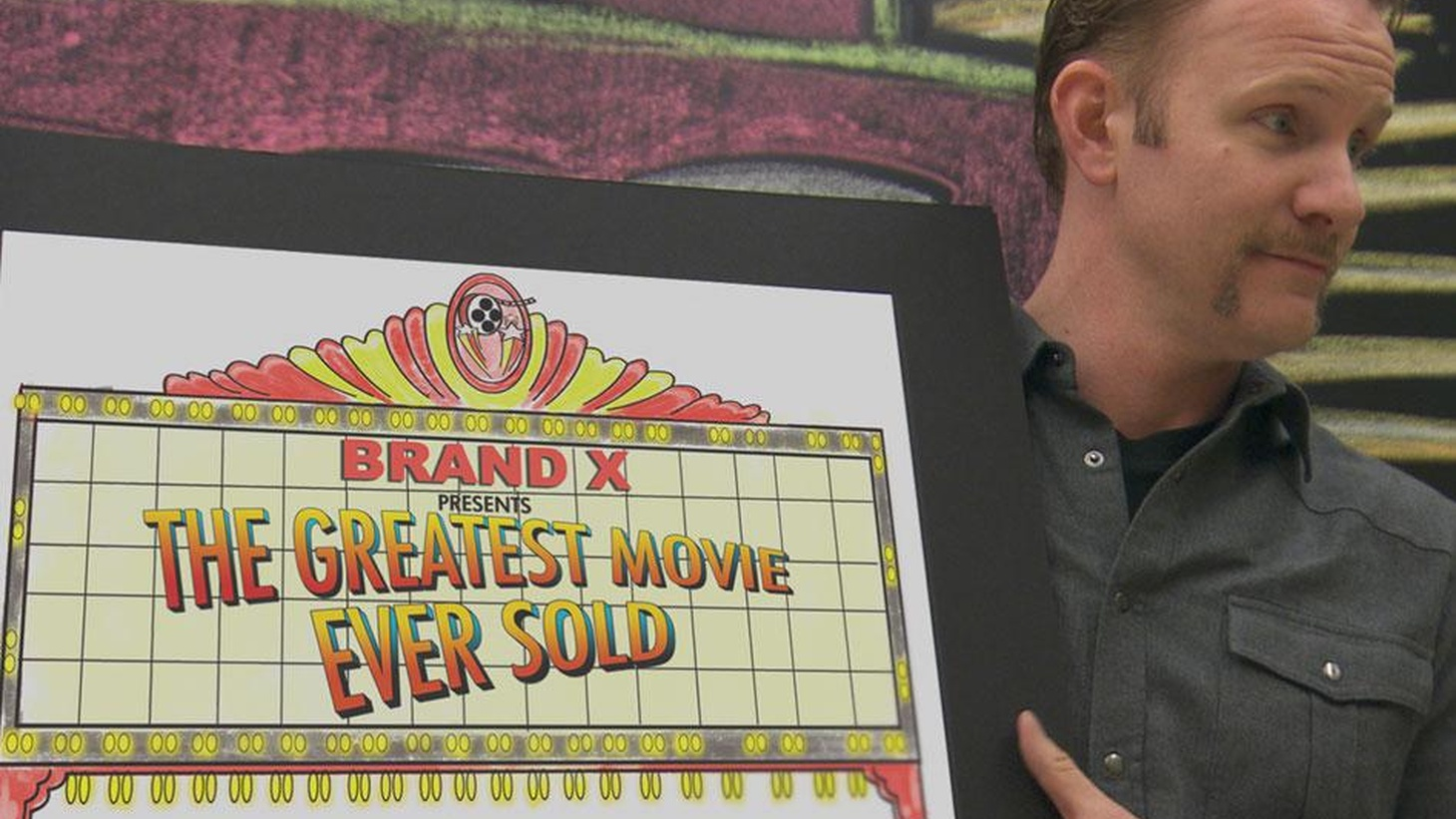 Morgan Spurlock talks about Pom Wonderful Presents: The Greatest Movie Ever Sold, which was entirely financed by brand partners doing product placement in the film.