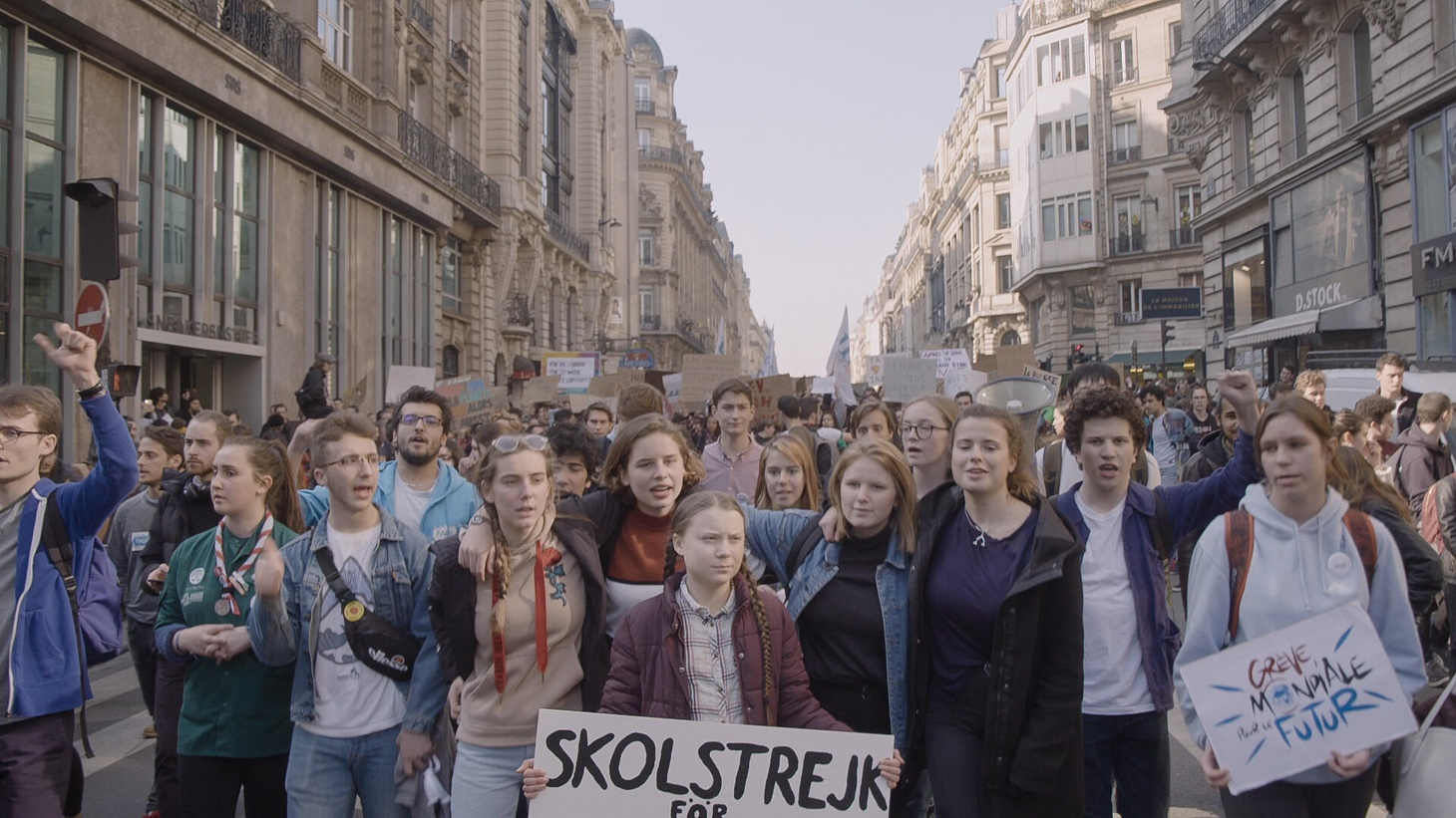 Greta Thunberg's protests sparked a worldwide movement last year.