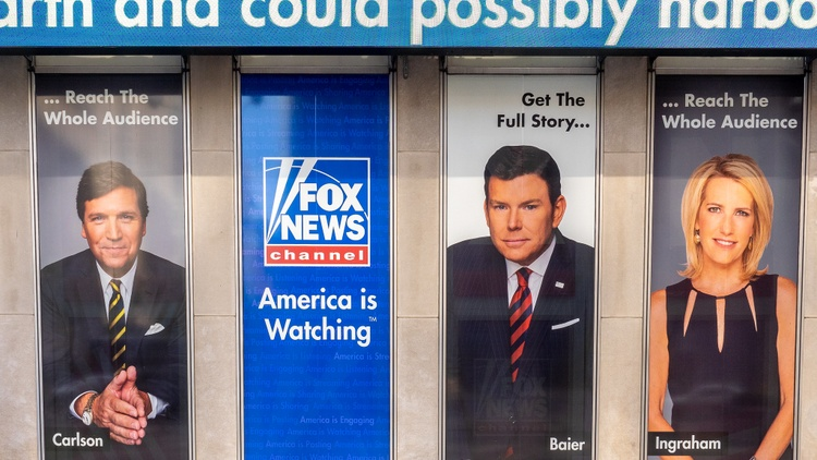 "Many of Donald Trump's followers have begun to turn away from Fox News, which was sympathetic toward the outgoing president since he began peddling his ""birther"" conspiracy theory —…"