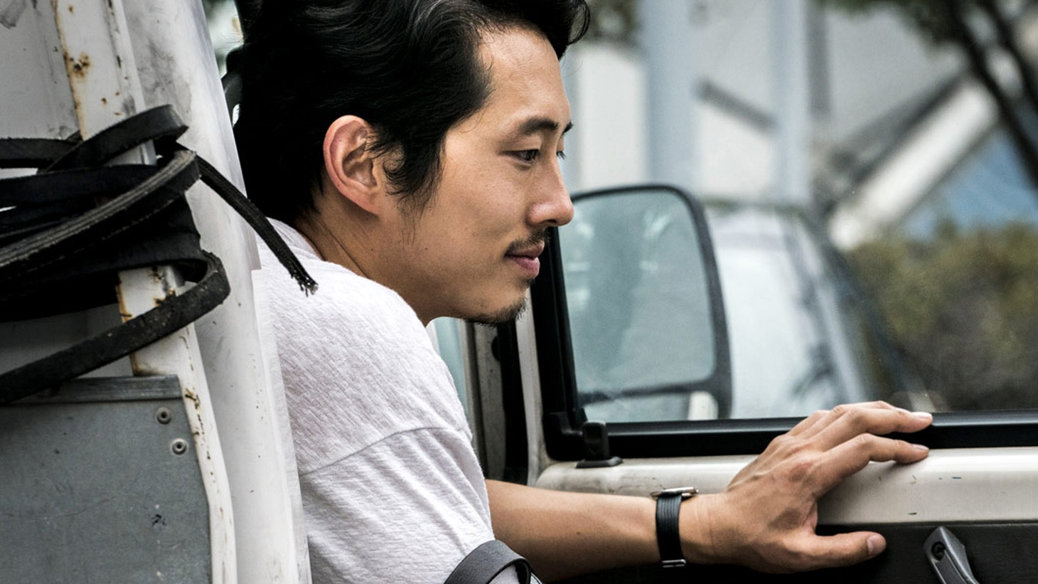 Actor Steven Yeun in BURNING, directed by Lee Chang-dong.
