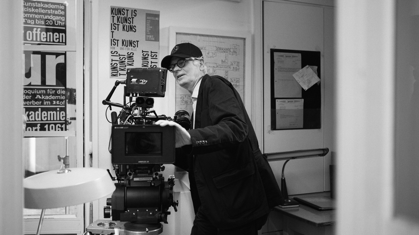 Cinematographer Caleb Deschanel, Oscar-nominated this year for the German film 'Never Look Away'