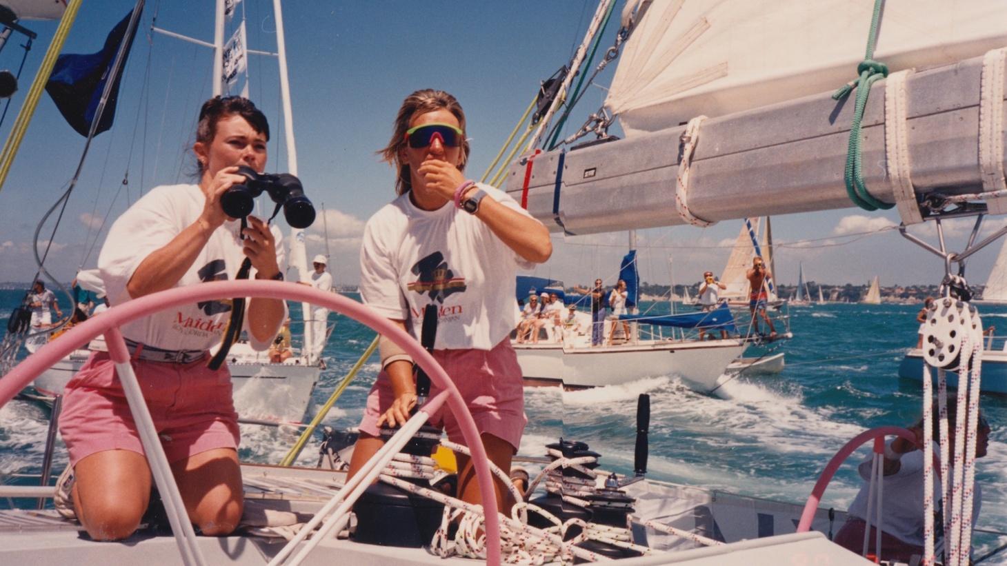 Tracy Edwards and Mikaela Von Koskull.