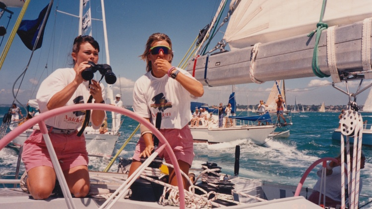 Pioneering sailor Tracy Edwards and director Alex Holmes on 'Maiden'
