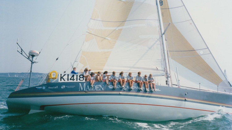 The new documentary ' Maiden ' tells the incredible story of the first all-female crew to compete in the grueling, months-long Whitbread Round the World sailing race.