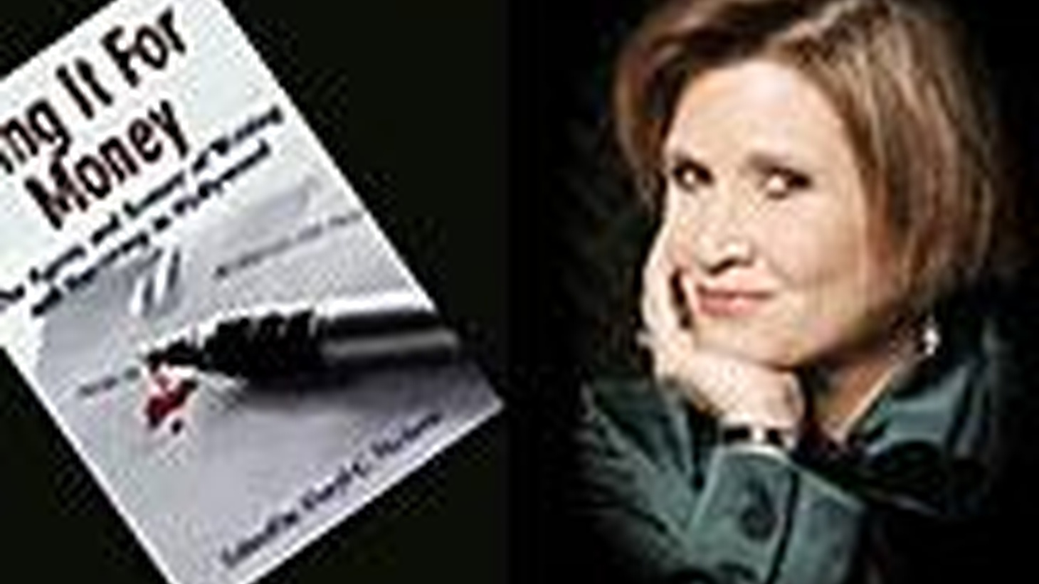 Carrie Fisher talks about drugs, alcohol and recovery in show business. Also, the writer speaks, Part II.