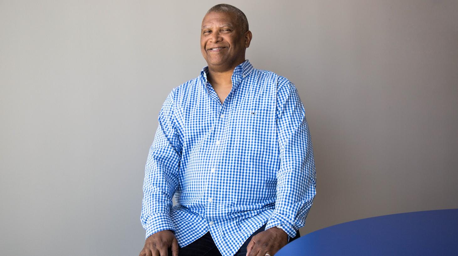 Reginald Huldin at KCRW