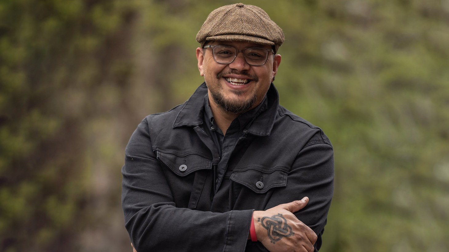 """Sterlin Harjo co-created the comedy series """"Reservation Dogs"""" on FX."""