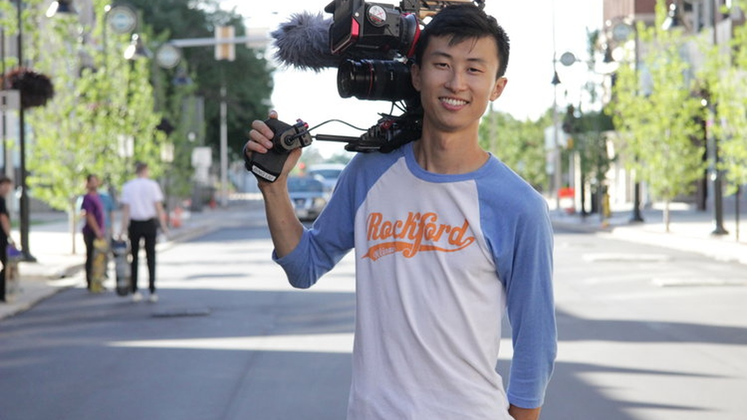 Bing Liu, director and cinematographer of 'Minding the Gap.'