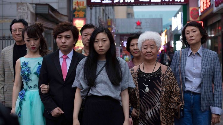 "Lulu Wang's movie "" The Farewell ,"" is, as advertised on the screen before the story even begins, ""Based on an actual lie."""