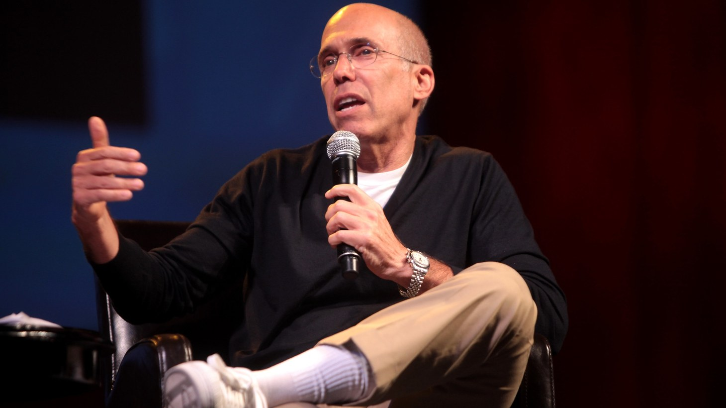 Jeffrey Katzenberg said the pandemic and the concept might be to blame for Quibi's demise.