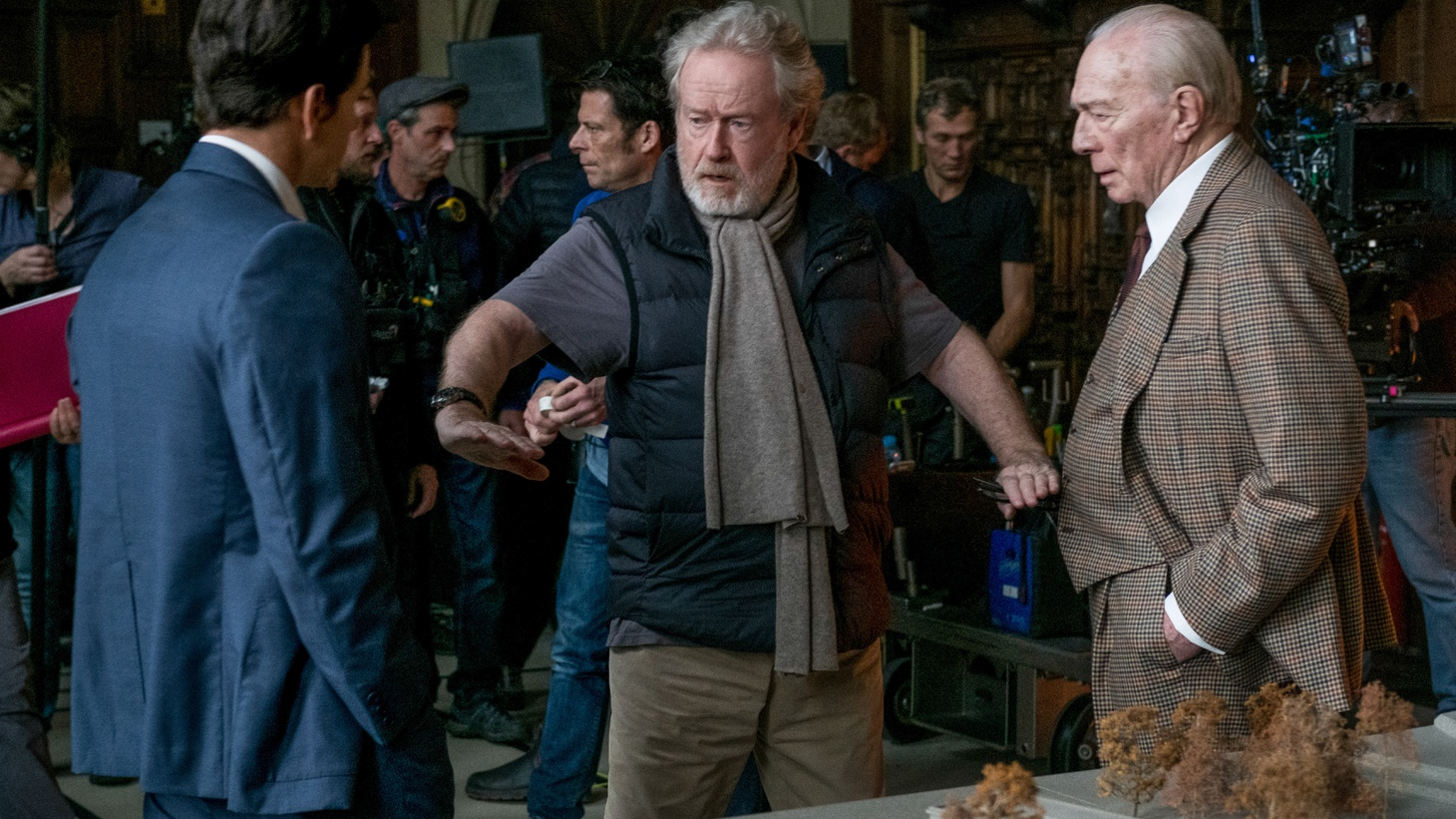 Sir Ridley Scott just pulled off a one-of-a-kind filmmaking feat--cutting Kevin Spacey out of his new film and reshooting with Christopher Plummer in the role--all in just six weeks. Scott tells us about his mad dash to refilm 22 scenes of the Getty family kidnapping drama All the Money in the World.