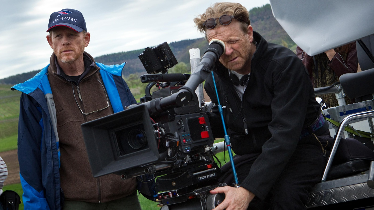 """Ron Howard talks about making """"Rush"""" without the help of a studio, and shooting his first documentary."""