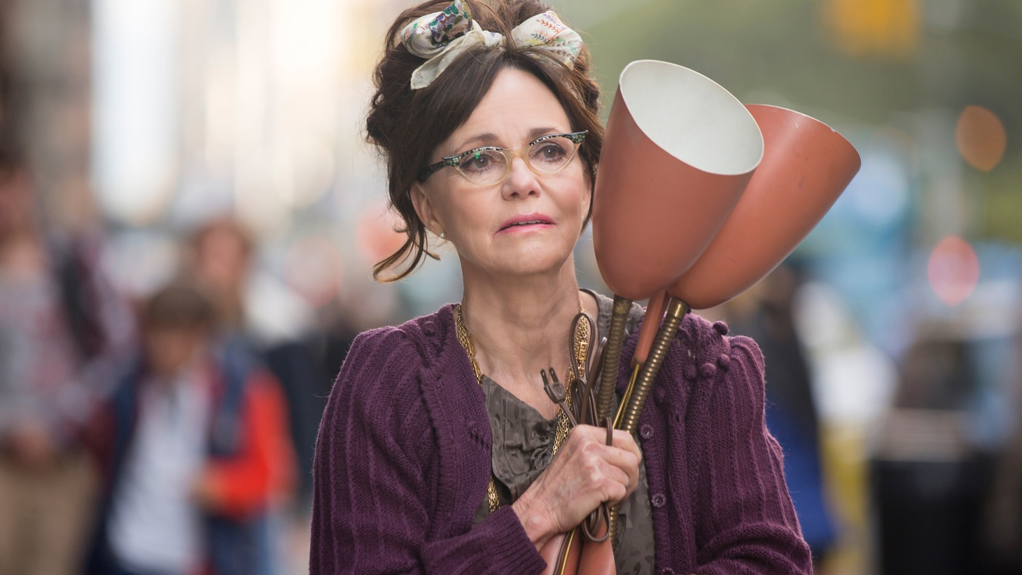 It's been two decades since Sally Field headlined a film, but now she stars as the title role in Michael Showalter's new indie dramedy, Hello, My Name Is Doris. Field and Showalter share why they were drawn to the project, and how they filmed it in under a month.