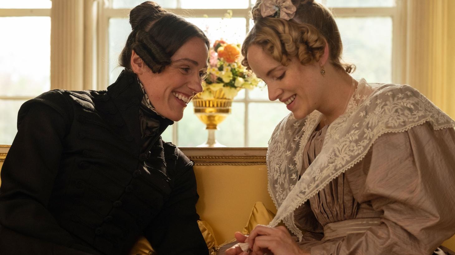 Suranne Jones as Anne Lister and Sophie Rundle as Ann Walker in Sally Wainwright's 'Gentleman Jack.'