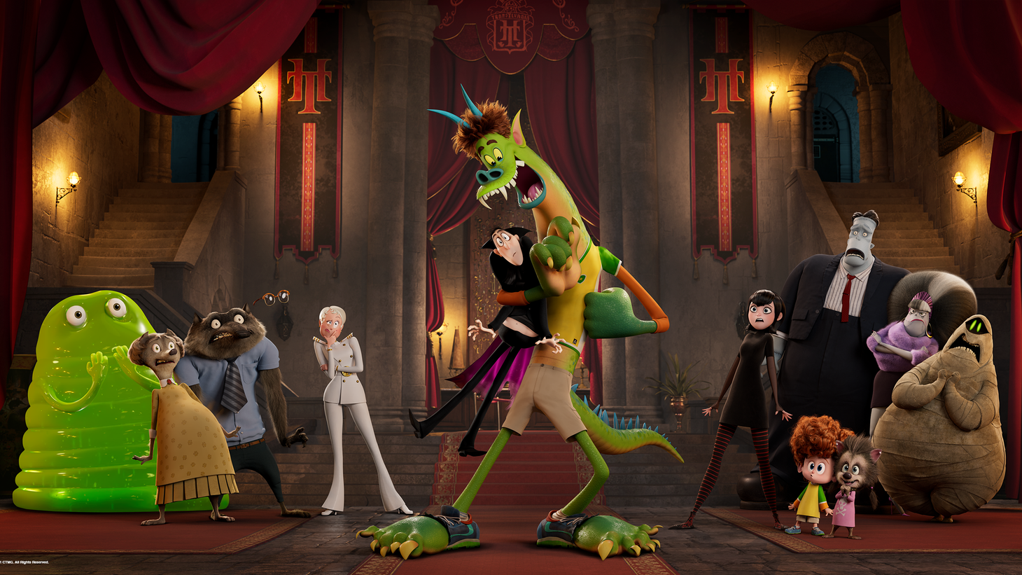 """Facing a severely weakened box office, Sony decided to skip theatres altogether for """"Hotel Transylvania: Transformania"""" and sold the film to Amazon for a streaming release."""