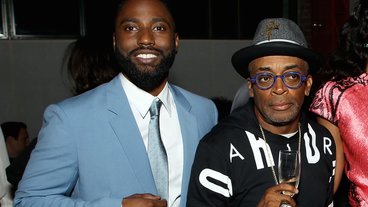 Spike Lee and John David Washington on 'BlacKkKlansman'