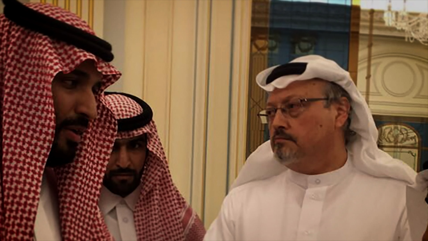 """The new documentary """"The Dissident"""" investigates the murder of journalist Jamal Khashoggi by the regime of Saudi Prince Mohammed bin Salman. Photo courtesy of Briarcliff Entertainment."""