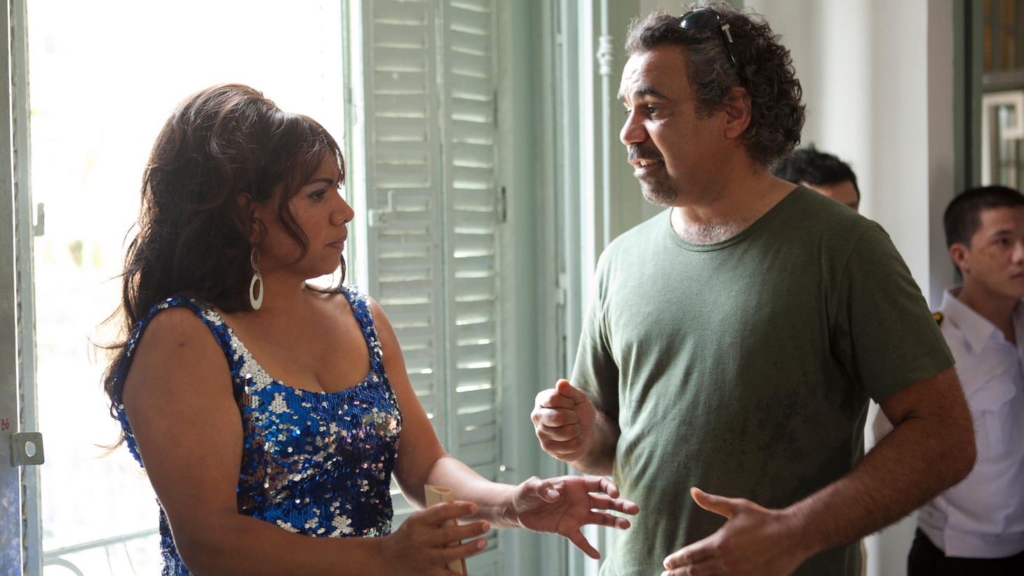 "An Aboriginal director on his hit Aussie film, ""The Sapphires."" Plus a VFX business update."
