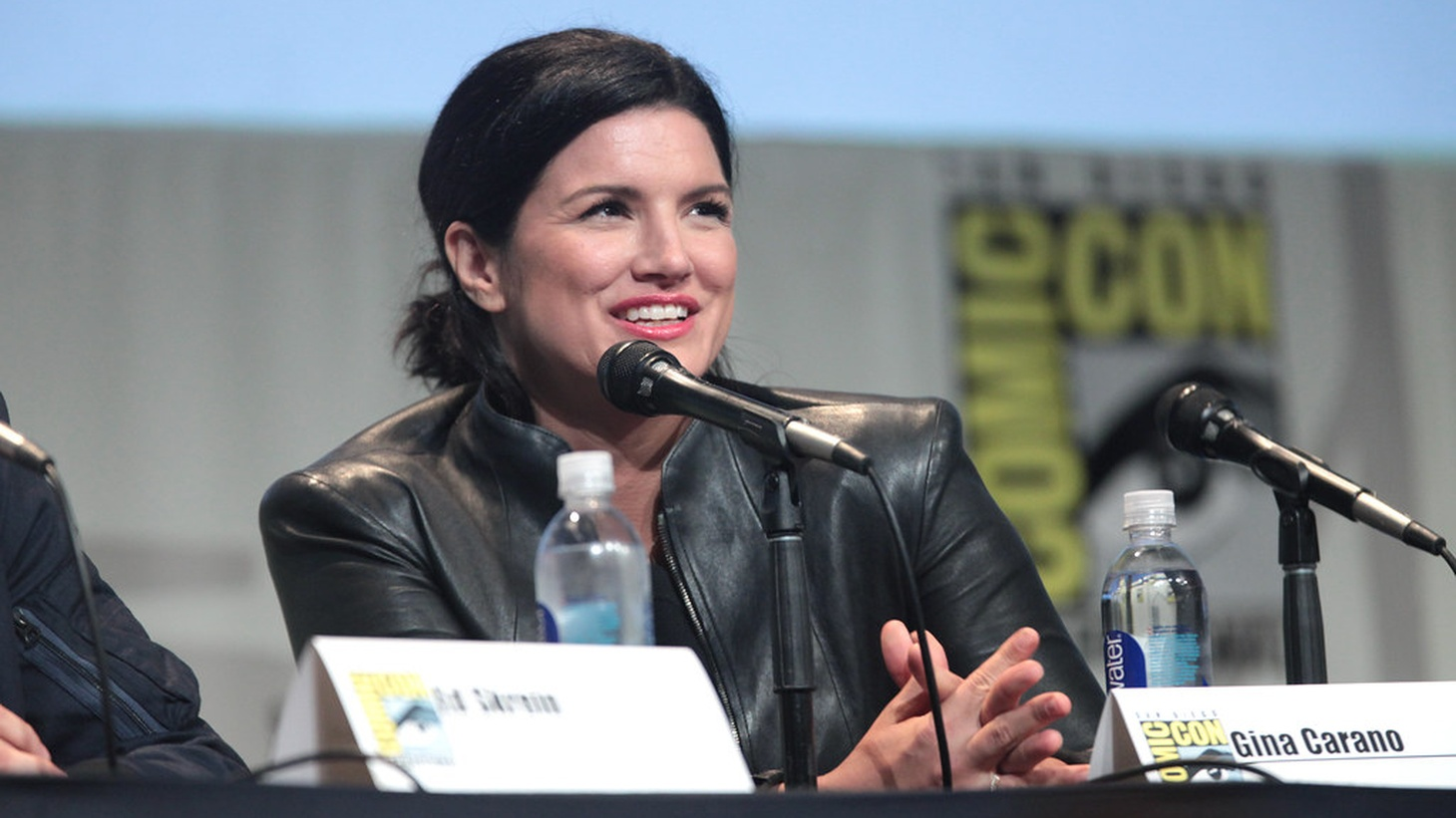 """Gina Carano is part of a recent wave of talent dropped by their agencies for troubling behavior. In Carano's case, """"The Mandalorian"""" actress made offensive posts on social media comparing Republicans to Jews in Nazi Germany."""