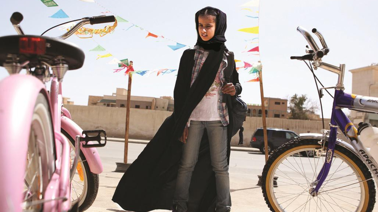 """Haiffa Al-Mansour is the writer/director of """"Wadjda"""" -- the first film entirely shot in Saudi Arabia,a country that's banned movie theaters."""