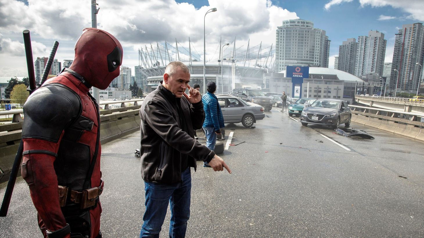 Director Tim Miller and producer Simon Kinberg tell us how Deadpoolwent from being almost dead at Fox to an R-rated box office sensation. And as for the leaked test footage that made fans go wild and got the movie made? Miller swears it wasn't him.