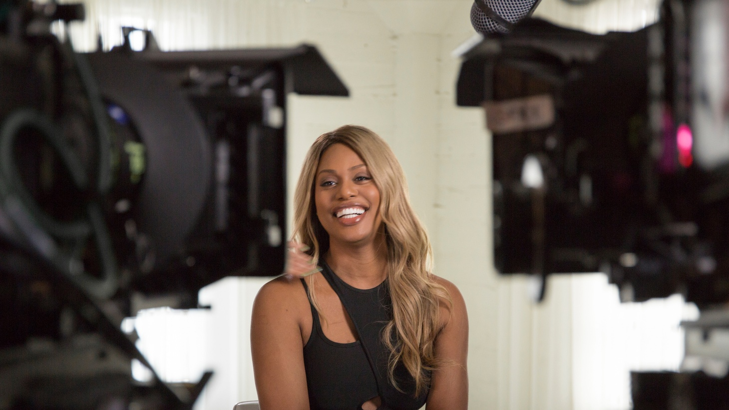 """Executive producer Laverne Cox in director Sam Feder's documentary """"Disclosure."""""""