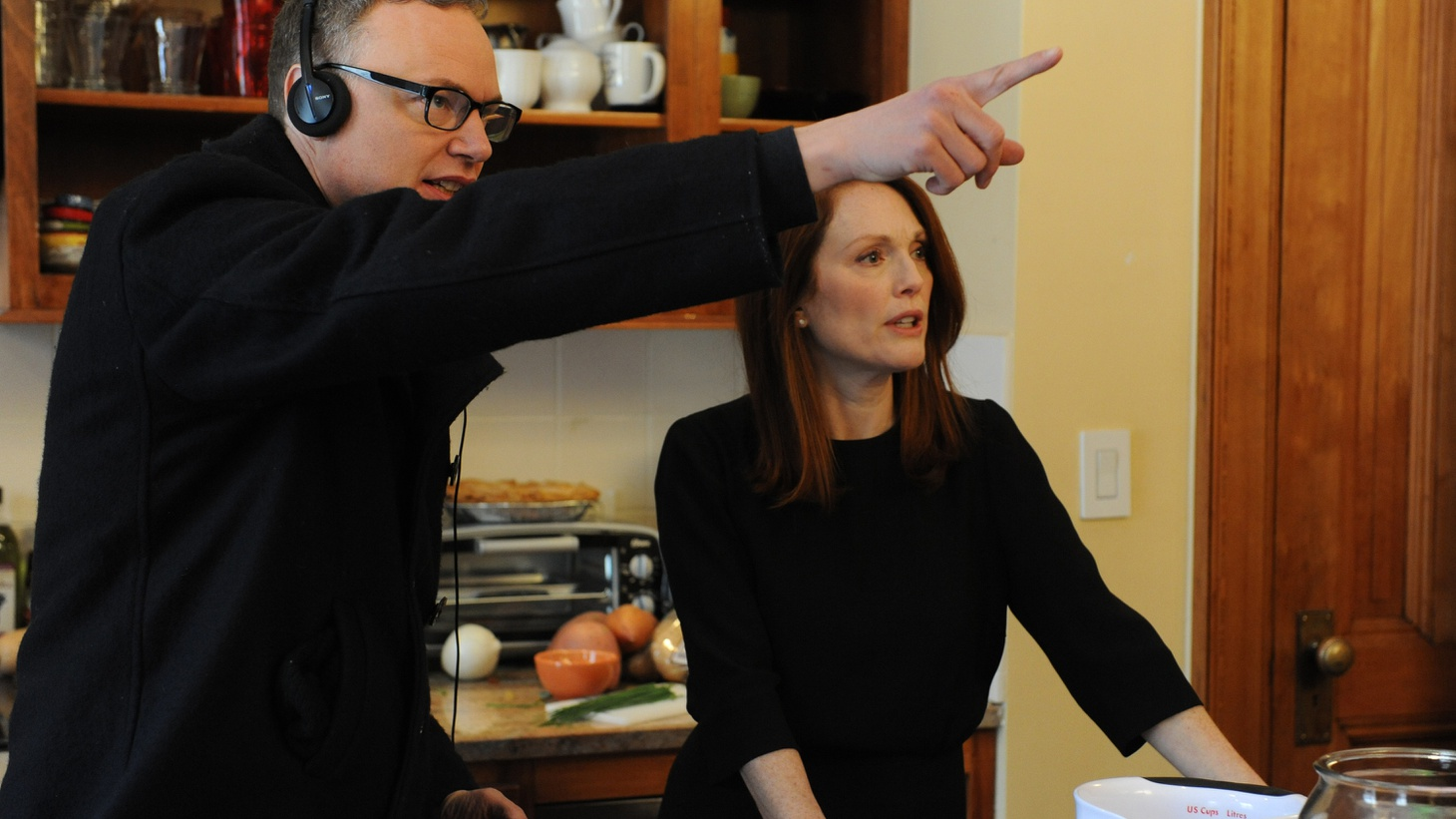 Julianne Moore is in Oscar contention for playing a woman struggling with Alzheimer's in Still Alice. The film was directed by a married couple with their own story of battling a debilitating disease.