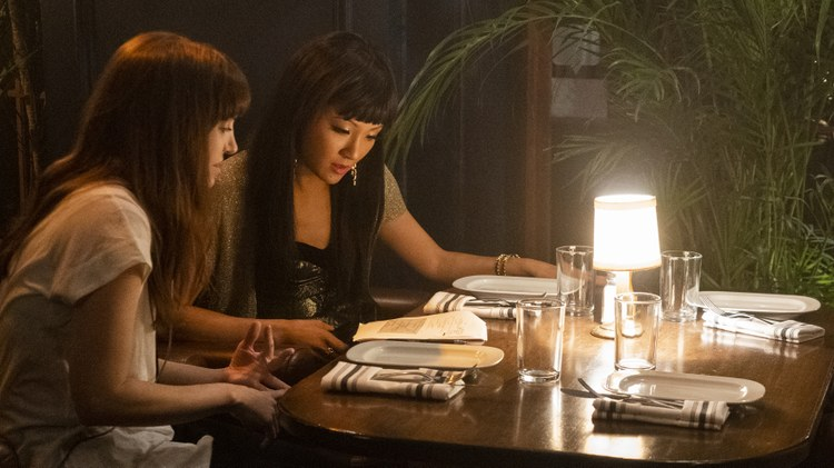 In the new movie ' Hustlers ,' Constance Wu plays a struggling stripper named Destiny.