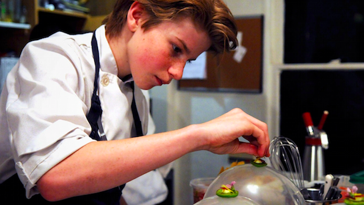 What happens when a prodigy chef realizes his dream, at 19?