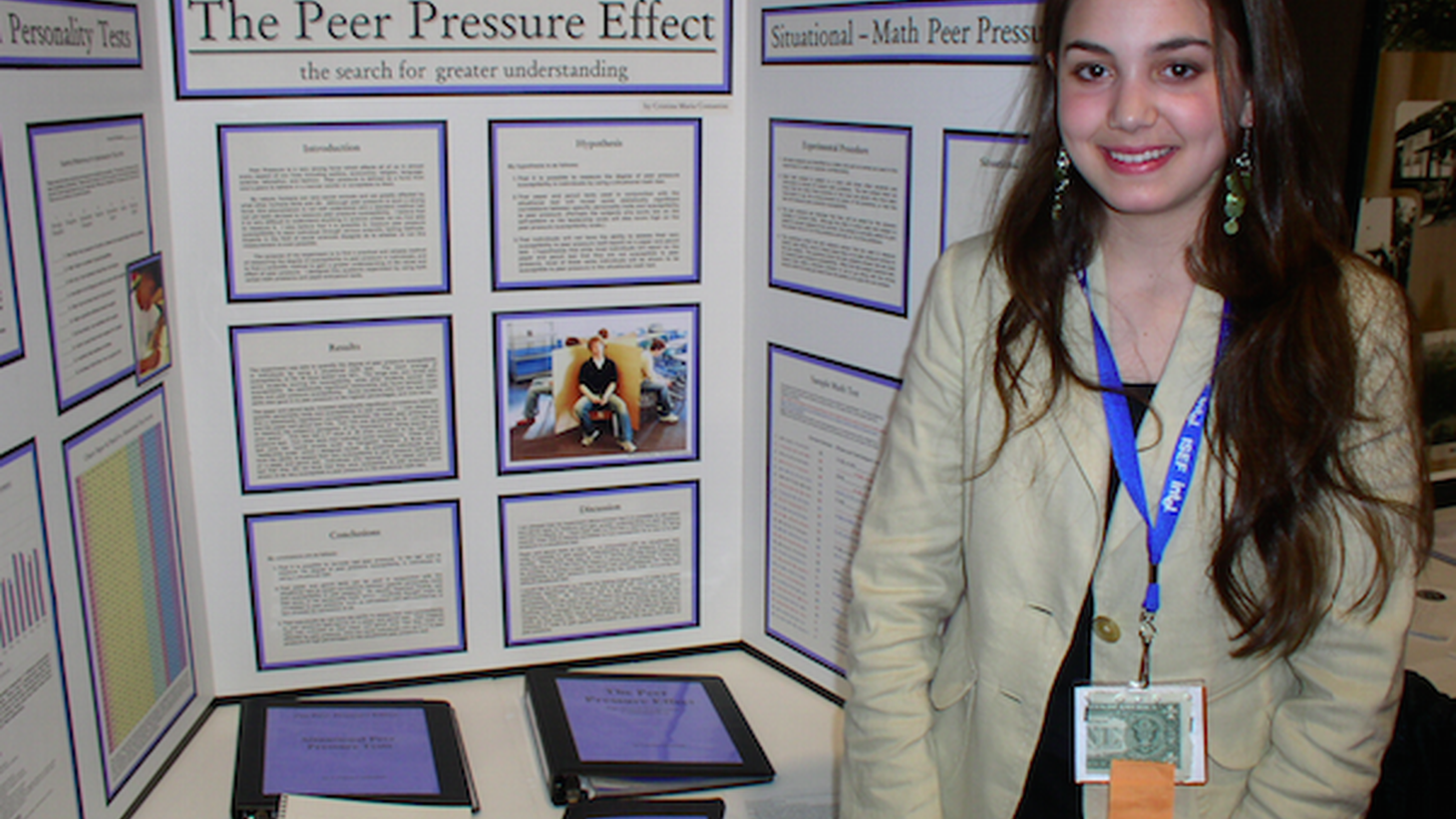The world's top student scientists converge at the Olympics of science fairs.