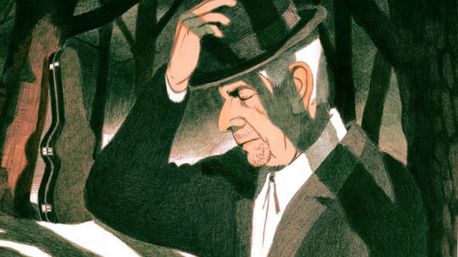 David Remnick's interview with the late Leonard Cohen, who died this week. The great songwriter spoke at length about his writing, overcoming anxiety, and the influence of Judaism on his work.