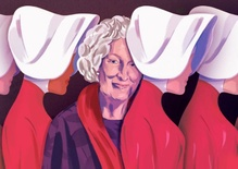 Margaret Atwood, evangelizing against climate change, and Greek tragedy