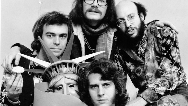 Four comedians trained in poetry and psy-ops, Firesign Theatre created dense, album-length art-objects that could take multiple spins to understand.