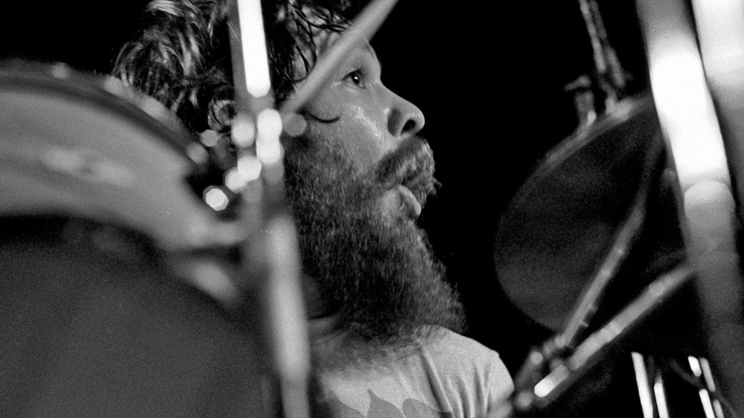 """Young drummer Neal Morgan dives deep with Creedence Clearwater Revival's Doug """"Cosmo"""" Clifford on his playing on the 1970 classic """"Long as I Can See the Light."""""""