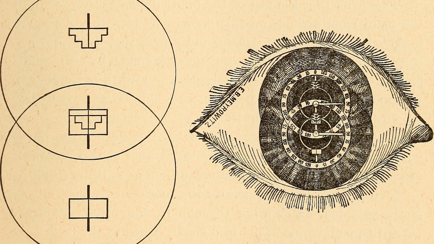 """The refraction of the eye; including a complete treatise on ophthalmometry;"" (1900)."