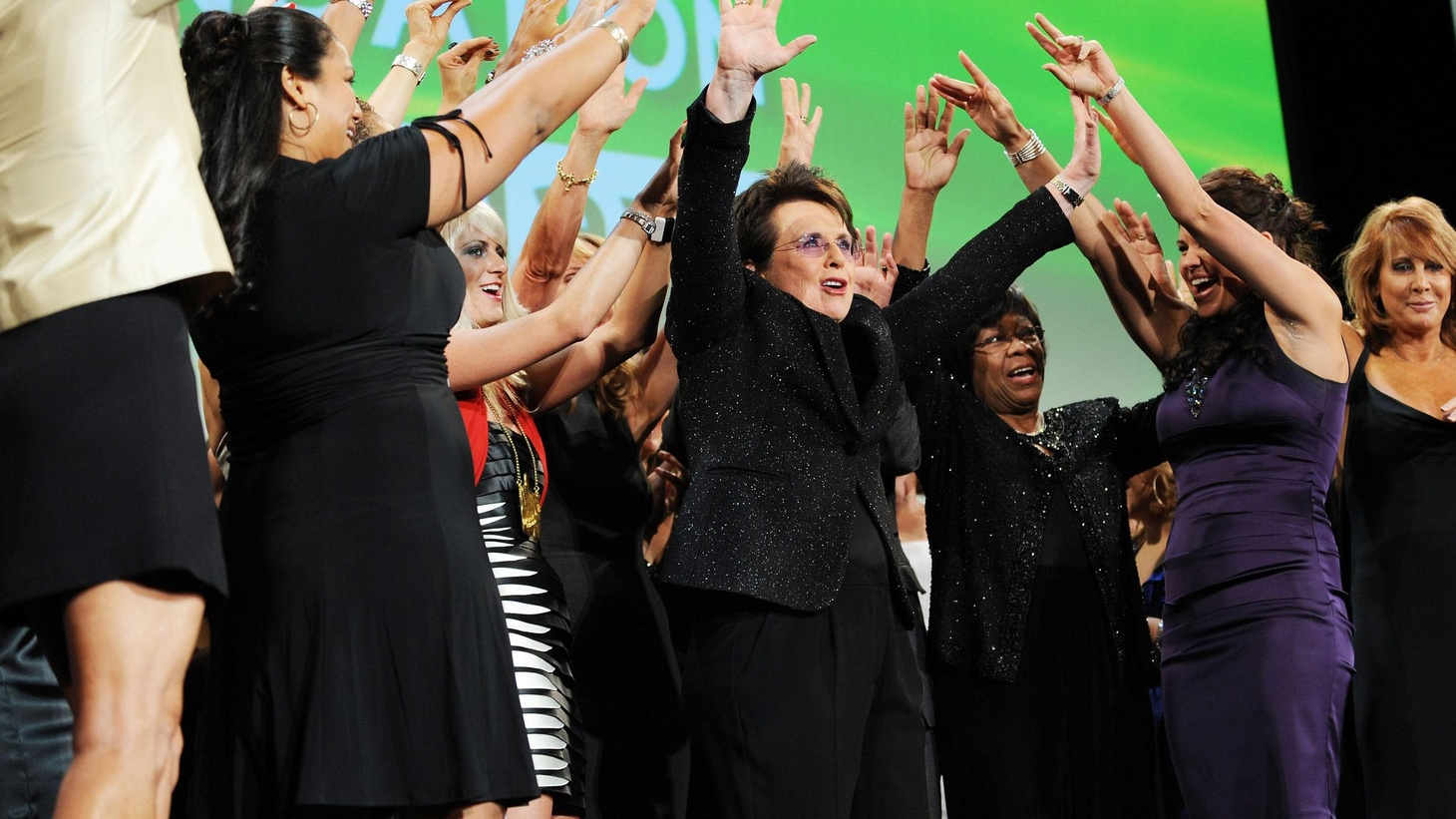 There are dozens upon dozens of black-tie fundraiser dinners throughout each year, usually backing worthwhile causes while offering special guests and entertainment. Tuesday night was the annual night for Billie Jean King's Women's Sports Foundation and it has been reported consistently throughout the 30 years of this dinner that it is the lively night that stands out among all the others. Veteran newswoman Cokie Roberts began her remarks on Tuesday by recounting just how many dreadfully dreary political evenings she had suffered through in that very Waldorf Astoria Ballroom...