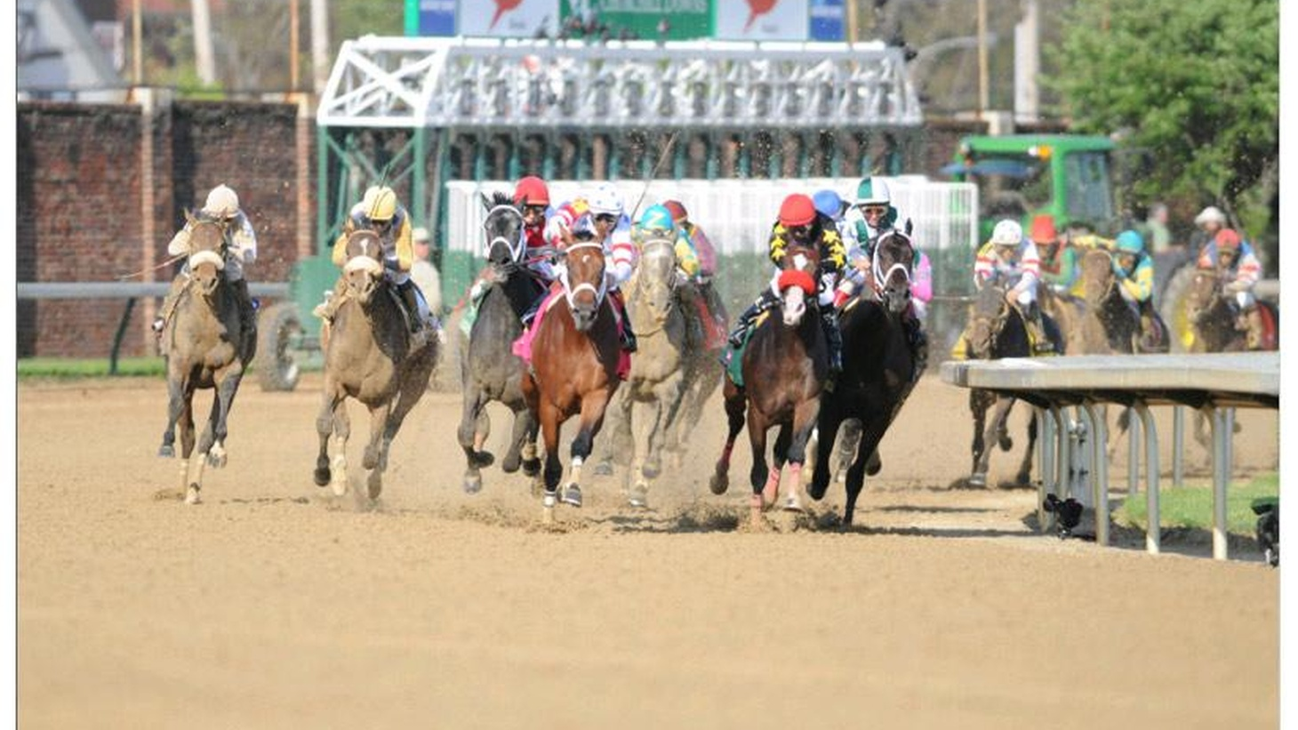 The Kentucky Derby runs this Saturday and it's no surprise that the economy foreshadows a