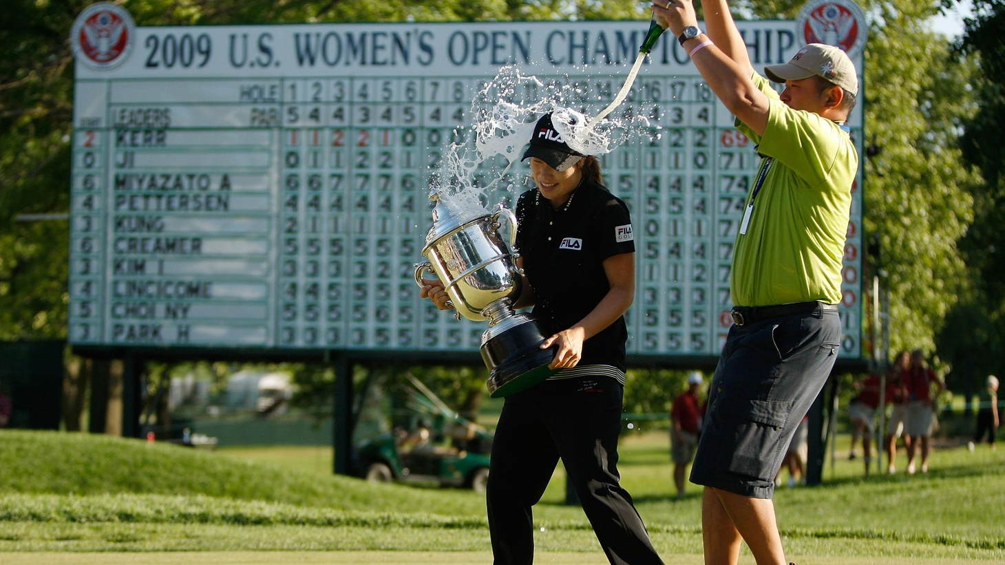 For women, golf was the fist successful professional sport in this country. Just on the heels of World War II, former track Olympian Babe Didrickson Zaharias, Patty Berg, and Louise Suggs may have had to organize their tournaments themselves, but they became household names and set the stage for the first accepted sport where women could make a living playing their passion...