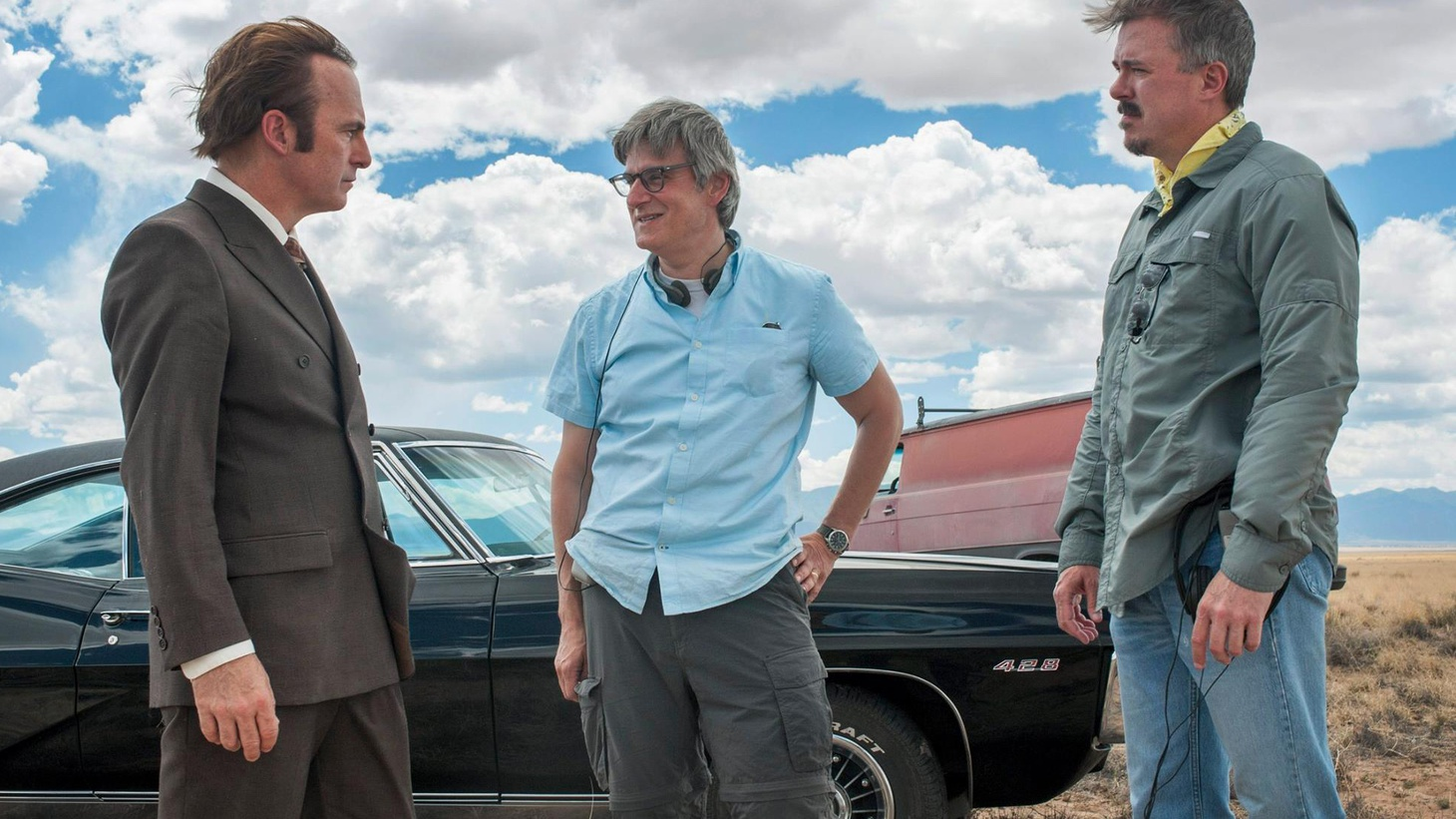 In this bonus episode, we share a recent panel discussion with the cast and creators of Better Call Saul moderated by Michael Schneider.Note: This podcast contains explicit language.