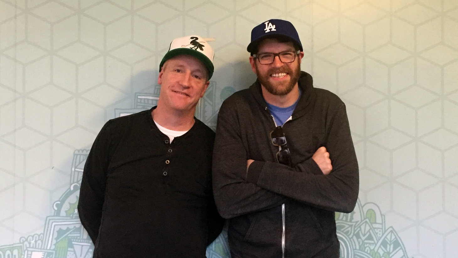 Matt Walsh and Timothy Simons play Mike McLintock and Jonah Ryan, respectively, on HBO's Veep. They tell us about the experience of starring in a show about a dysfunctional government in the middle of a crazy election year, and working in a new location with a new showrunner for Season 5.