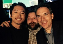 Robert Kirkman and Steven Yeun on 'The Walking Dead'
