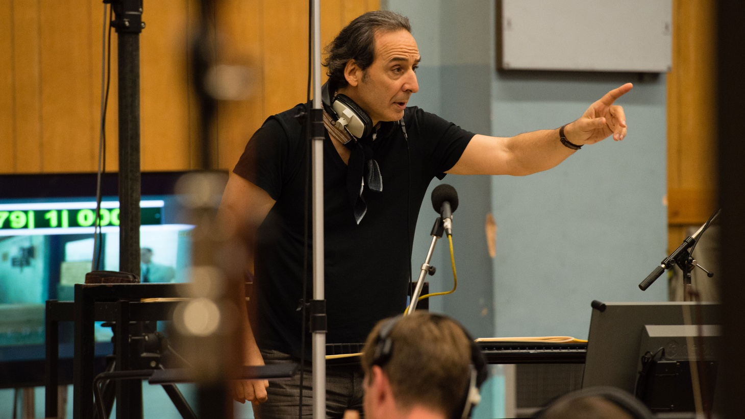 "French film composer Alexandre Desplat talks creating a soundscape of love in ""The Sound of Water""."