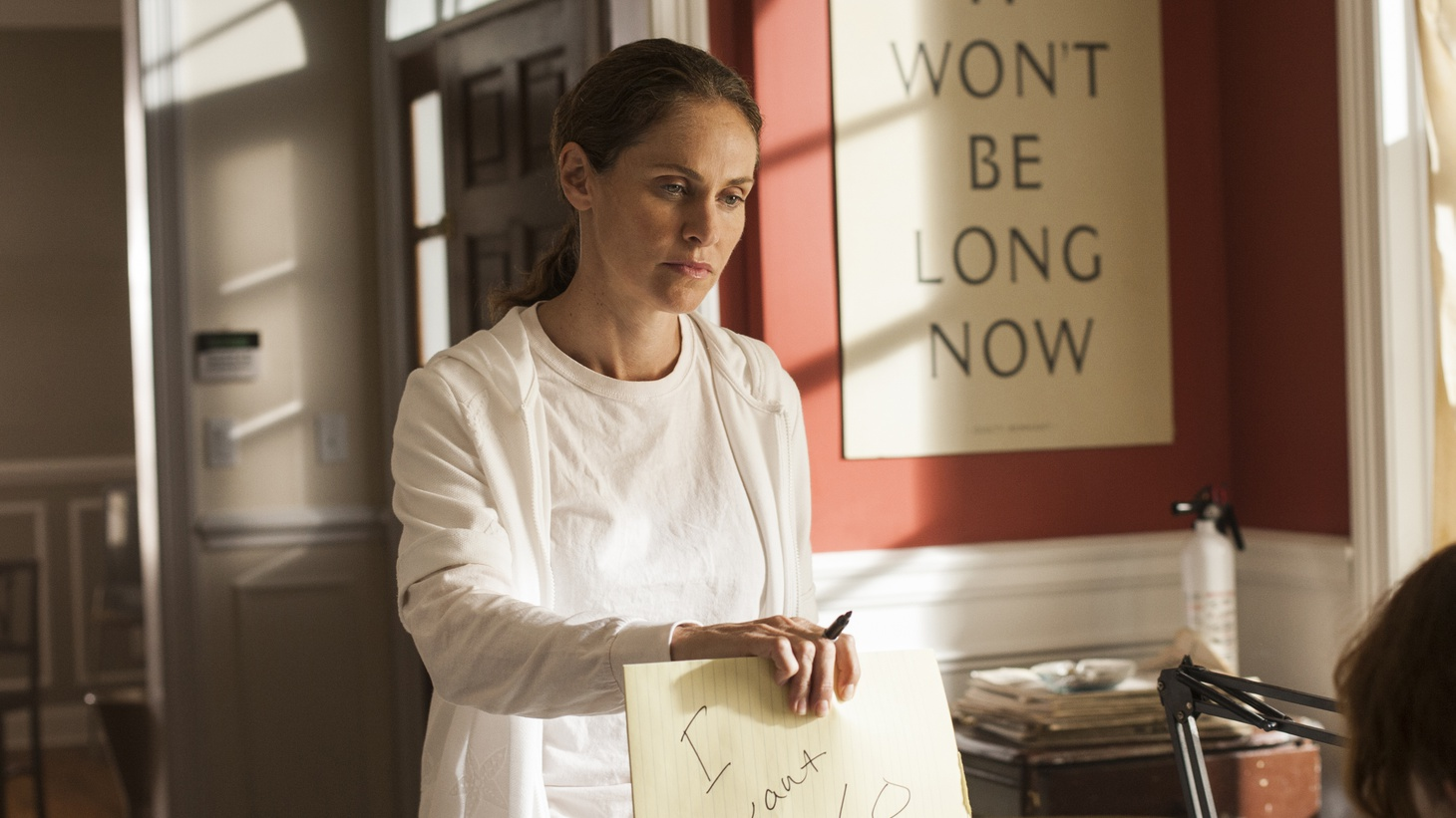 """Actress Amy Brenneman on the """"private, isolating, strange process"""" of playing Laurie Garvey on HBO's The Leftovers."""