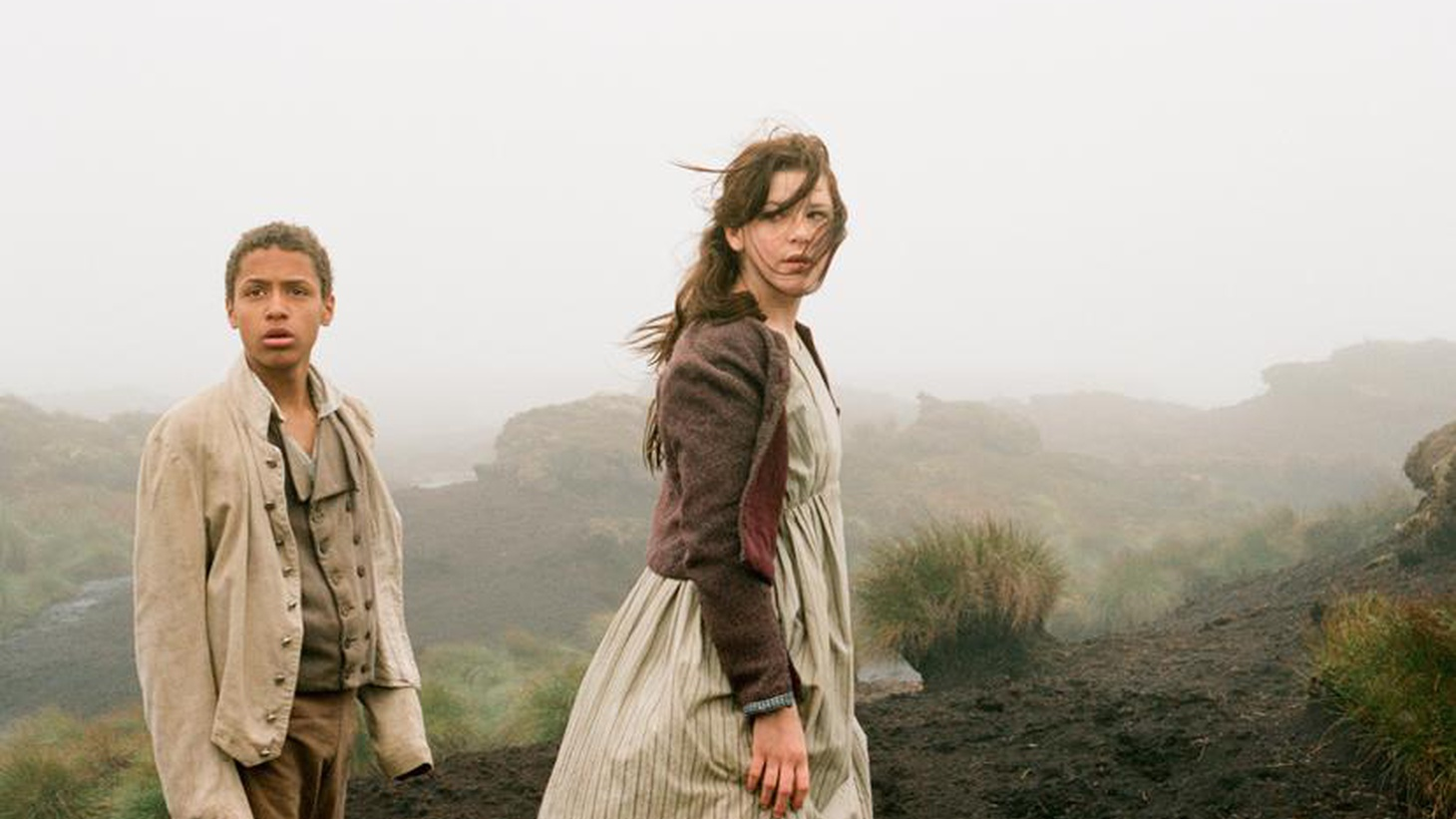 "Elvis Mitchell talks to filmmaker Andrea Arnold about her latest work, a new cross-cultural adaptation of ""Wuthering Heights."""