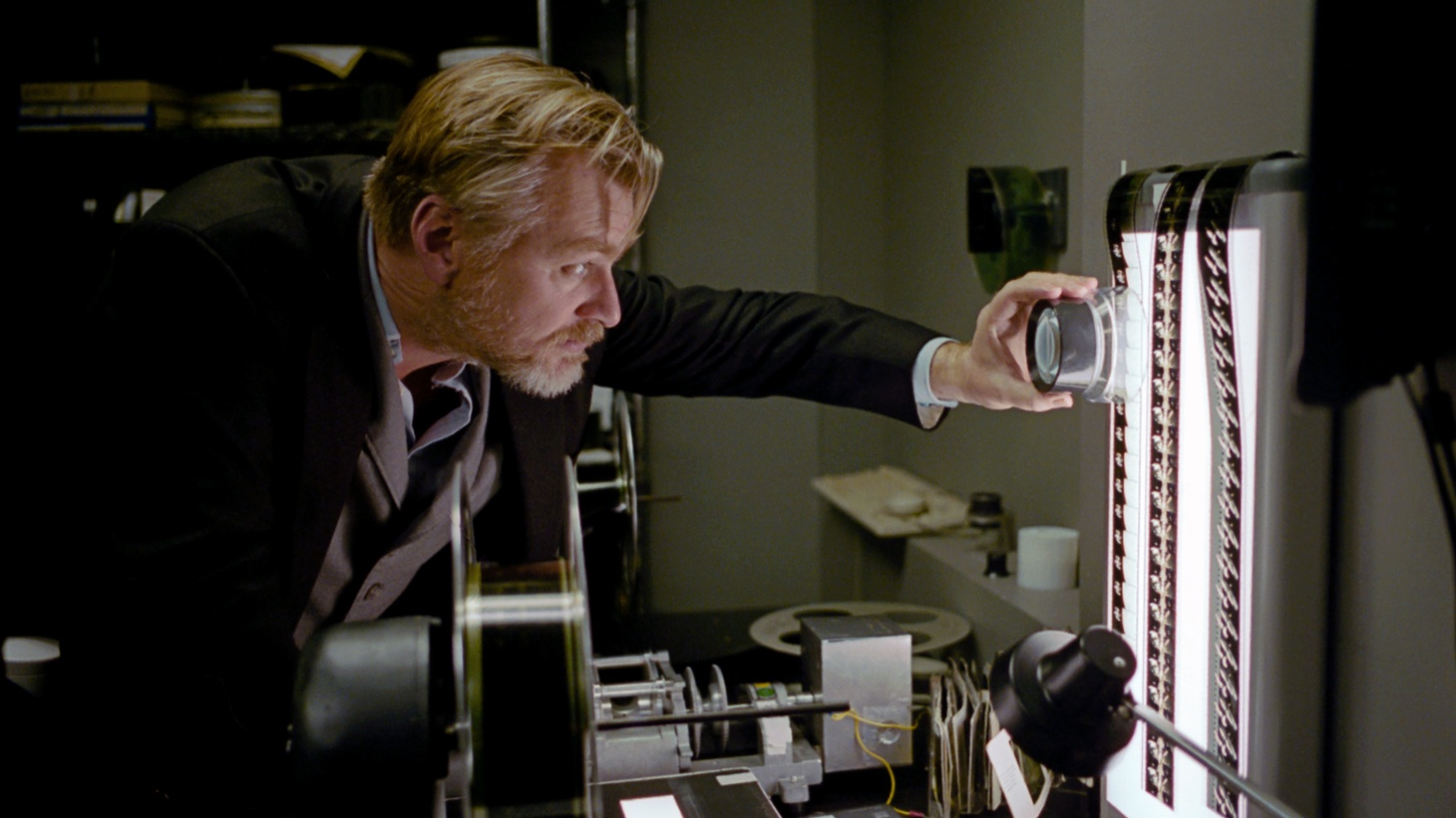 """Director Christopher Nolan revives a classic in the 50th anniversary 70mm reprint of """"2001: A Space Odyssey."""""""
