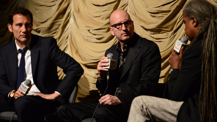 Director Steven Soderbergh talks about the project that pulled him out of his sabbatical, The Knick on Cinemax.