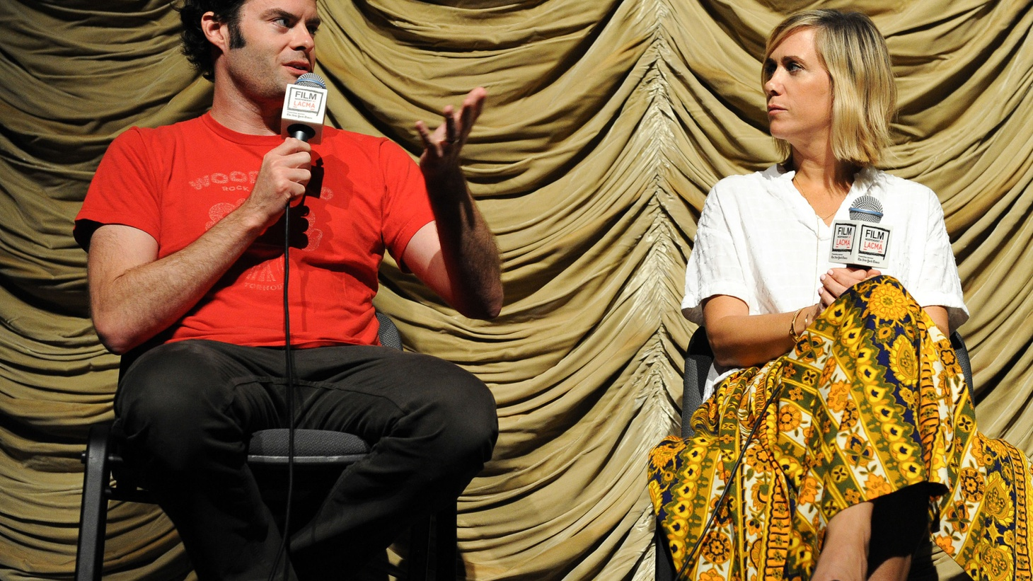 Writer/director Craig Johnson and stars Bill Hader and Kristen Wiig talk about their new film, The Skeleton Twins. Contains adult language.