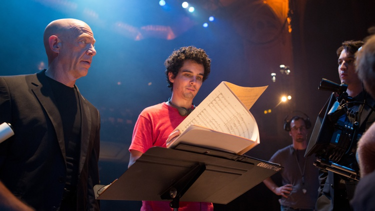 Writer/director Damien Chazelle and star J.K. Simmons on turning Whiplash from a Sundance short into an Oscar-nominated feature.