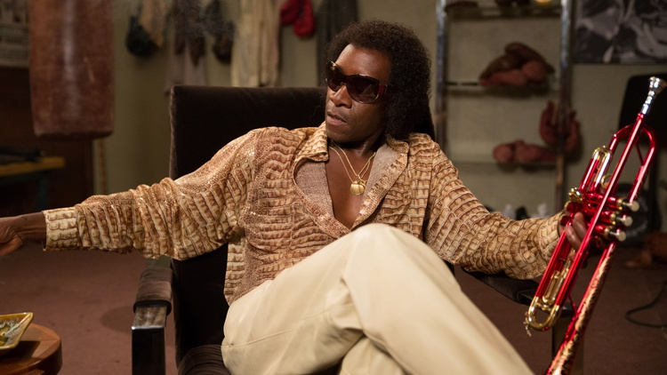 Actor Don Cheadle joins Elvis Mitchell to discuss portraying jazz legend Miles Davis in his directorial debut,Miles Ahead.